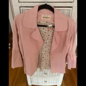 Maestro Pink Bell Sleeved Jacket, NWT